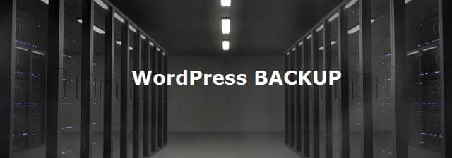 Comment faire un backup WordPress sans Plugin ?